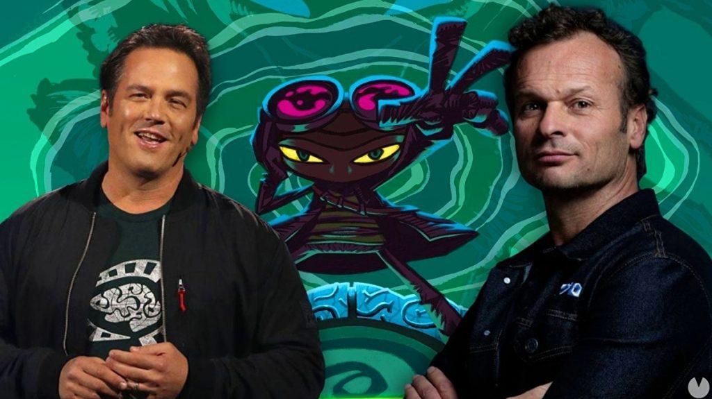PlayStation Studios President Congratulates Phil Spencer and Psychonauts 2 • Eurogamer.com
