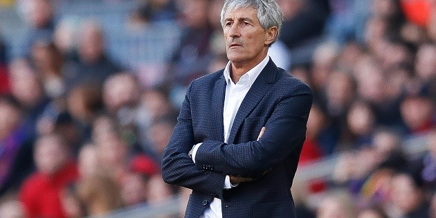 """Quique Setien praises Messi's professionalism and blows up Barcelona's dressing room: """"In forty years, I've never seen anything like this"""""""