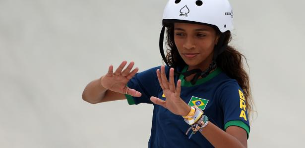 Rayssa Leal shines and wins the first stage of the World Skate League