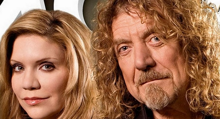"""Robert Plant, ex Led Zeppelin, and Allison Krause reunite for a new album.  Listen to """"Can't Let Go"""" - Music"""