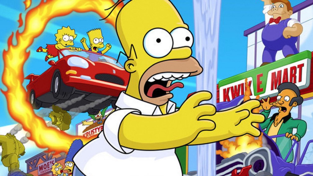 Simpsons Hit and Run: The Creator Remaster Surprised