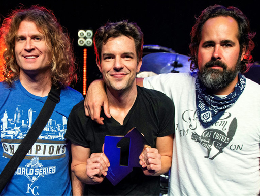 """The killers are defending the seventh album # 1 in the UK with """"Pressure Machine"""""""