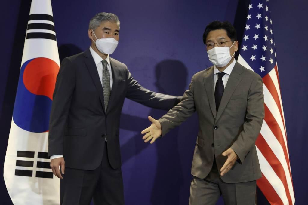 The spokesman said the United States had no hostile intentions against North Korea