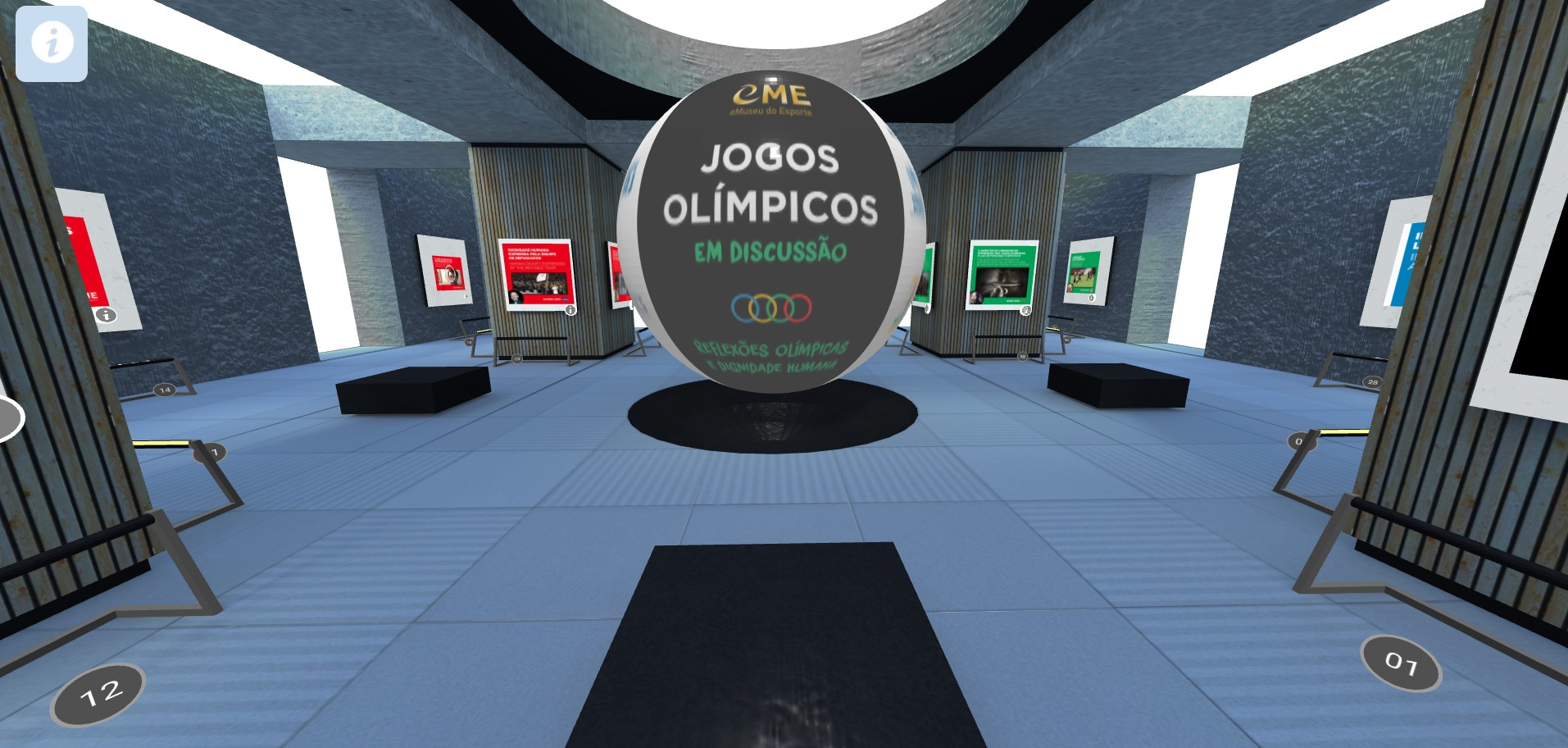 The virtual exhibition stimulates discussion of social agendas at the Olympics (Image: Reproduction/eMuseu do Esporte)