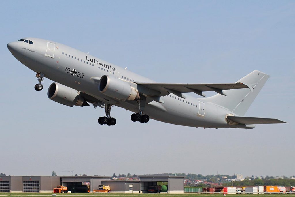 An Airbus A310 of the mighty German Air Force transforms into a restaurant in a zoo