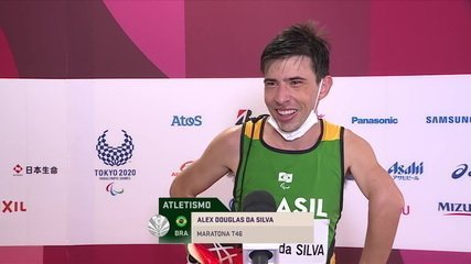 Alex Peres talks about the silver medal in the men's T46 marathon - Paralympic Games Tokyo 2020