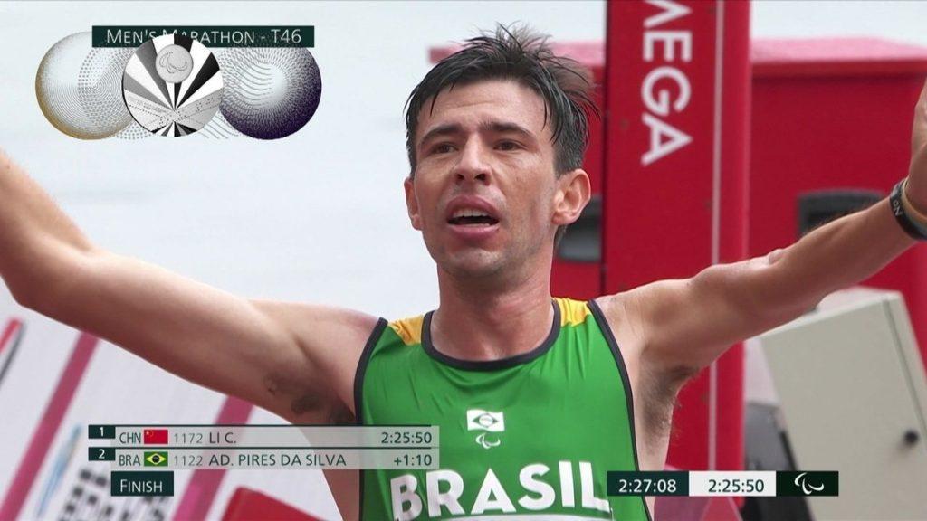 Alex Perez wins marathon silver, Brazil tied for historic 2016 campaign    Paralympic Games