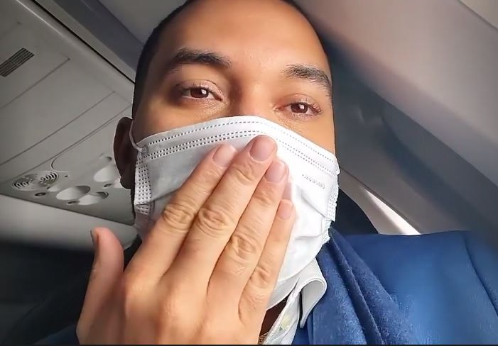 Since the plane, he's been updating fans (Image: Instagram)
