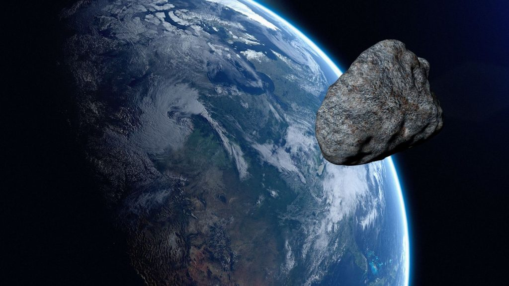 A dangerous asteroid is approaching Earth on Wednesday (22).  Is there a risk of collision?