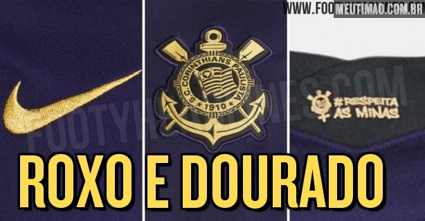 A specialized site publishes photos of the possible new third jersey of Corinthians;  look at the pictures