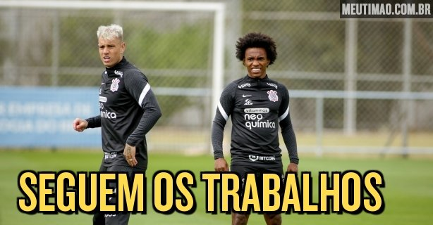 Corinthians do tactical training in the penultimate activity before the derby;  Leaders watch the work