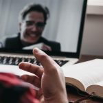 How do virtual conferences in a pandemic affect science production?