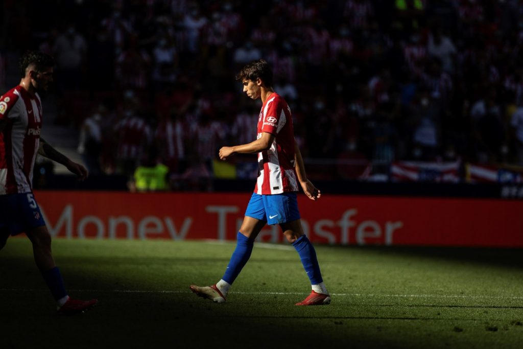 Joao Felix was sent off for calling the referee crazy, Atletico Madrid draw but top |  Spanish football
