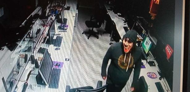 SC branch has been invaded by masked thieves