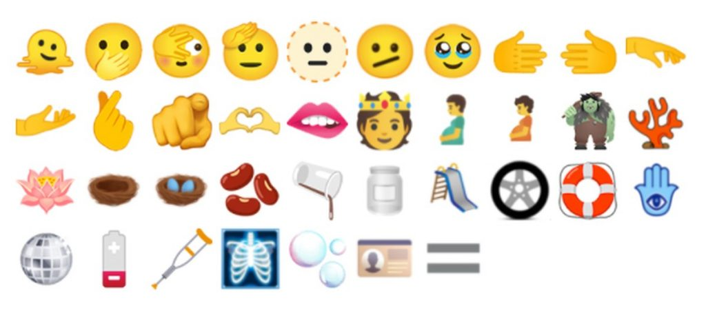 Tearful eyes, two-handed heart, and a 'melting' face: new emojis coming soon    Technique