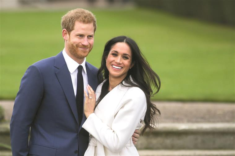 The study suggests that the popularity of Prince Harry and Megan Markle in the UK is declining