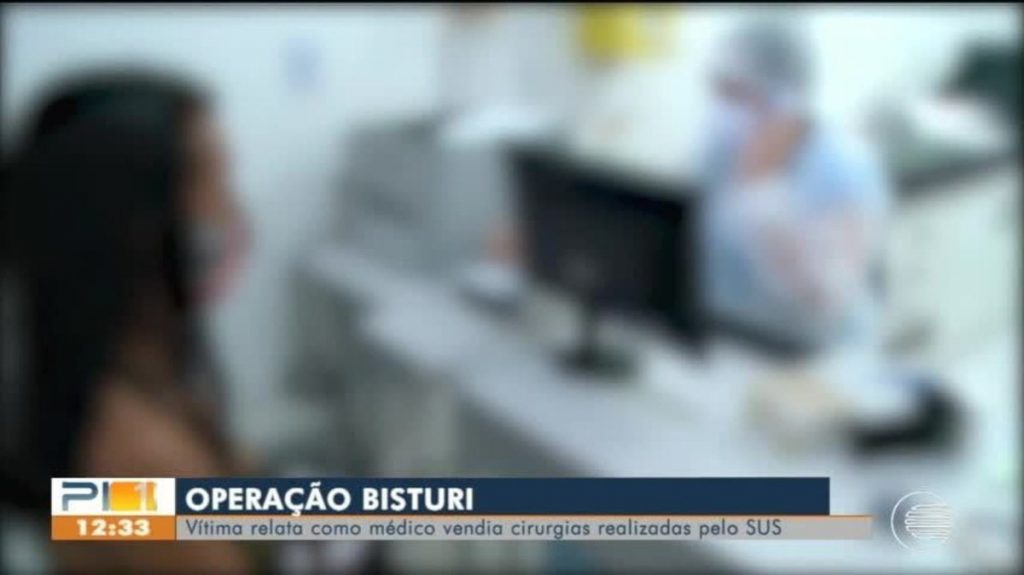 The victim is counted as a doctor selling SUS surgeries in Teresina;  professional was away    Biao
