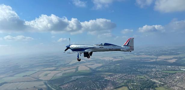 The world's fastest electric plane makes its first flight