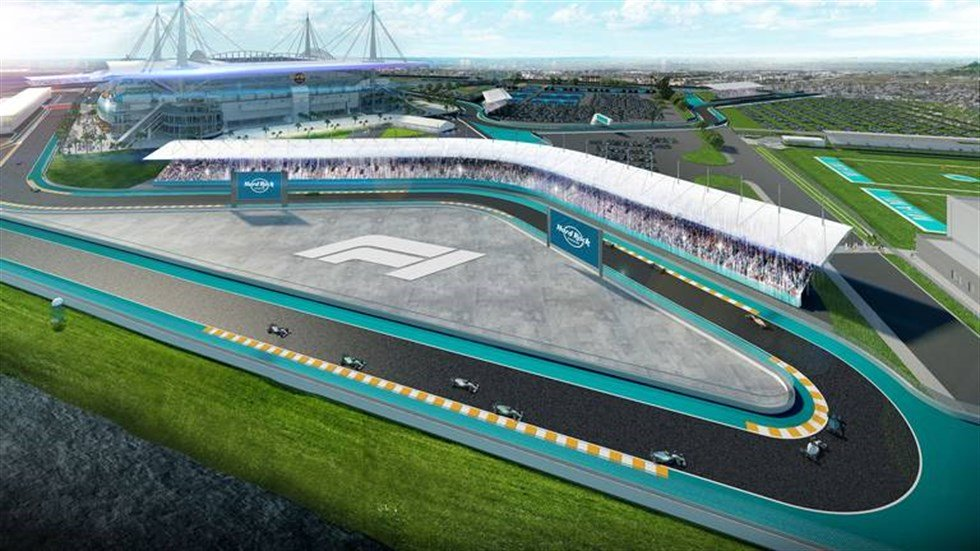 Miami nods to Indy and Nasser, and wants a third American F1 race