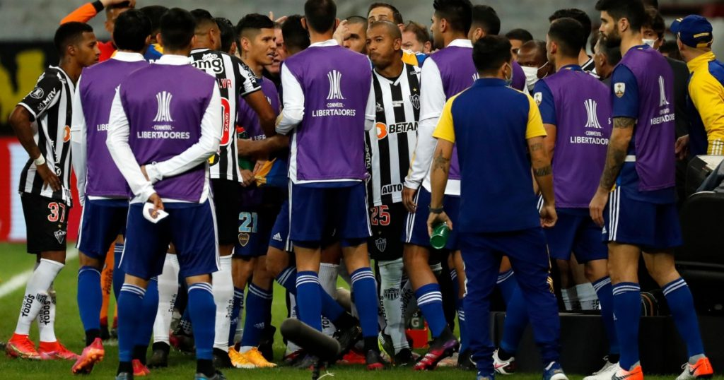 CONMEBOL suspends Boca coaches and players for confusing it with Atlético MG