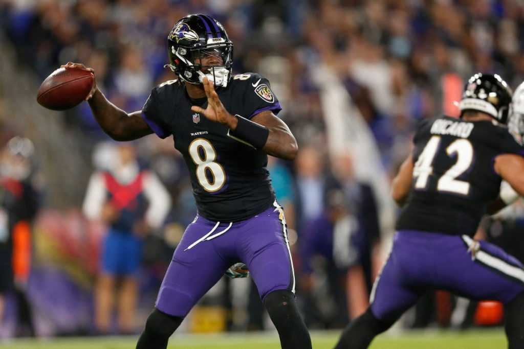 Lamar merges as a lane and carries the crows to the NFL |  football