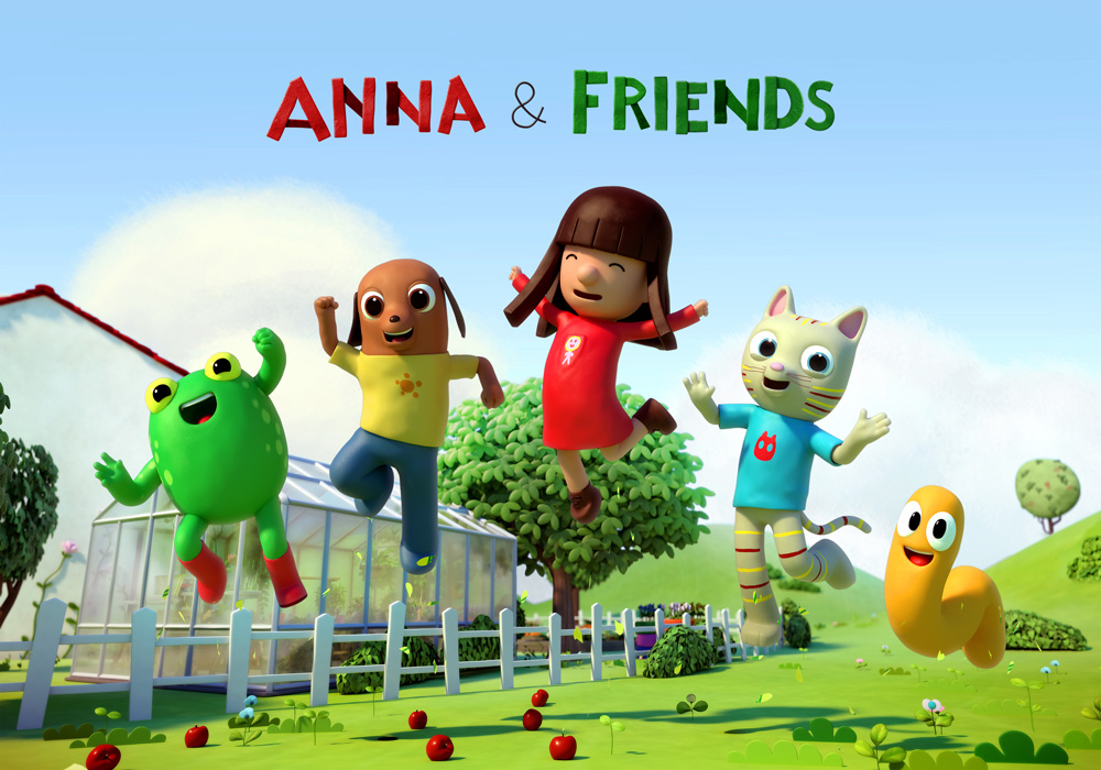 Anna and her friends