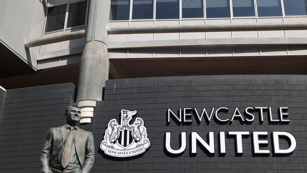 Newcastle was bought by the Saudi Investment Fund in a billion-dollar deal