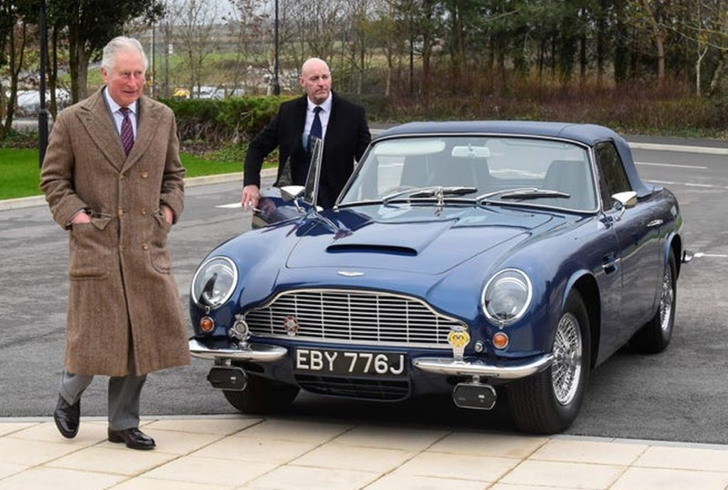 """Prince Charles' car running on """"cheese"""" and """"wine"""" 
