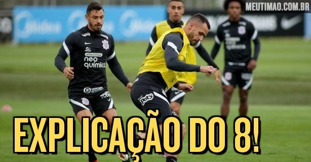 Renato Augusto shows a surprise with his quick relationship with Corinthians and explains his physical condition
