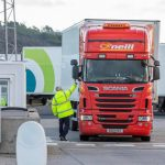 The UK truck driver says working conditions are harsh