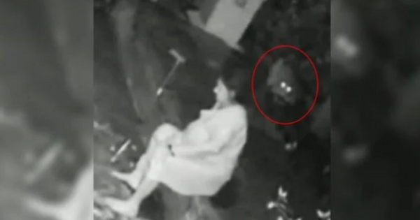 Video: A woman attacked by a tiger and defended with a stick