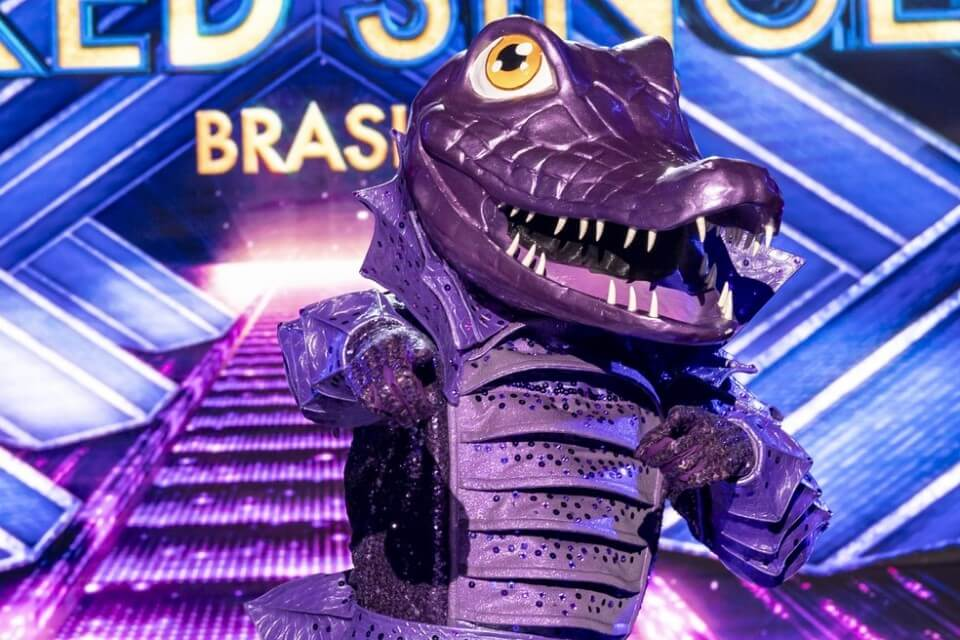 Who is the crocodile from the movie The Masked Singer?  Samba Icon's Daughter Deceives the Judges